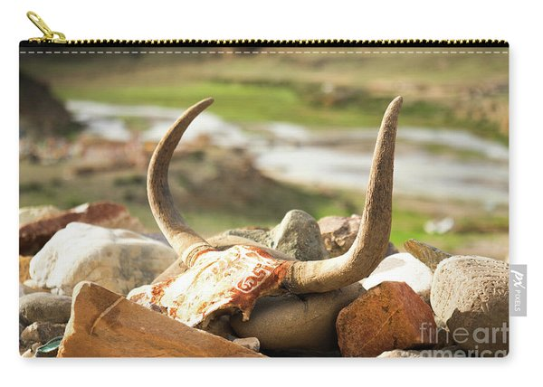 Horn And Valley Tibet Yantra.lv Carry-all Pouch
