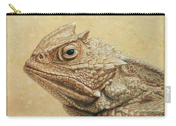 Horned Toad Carry-all Pouch