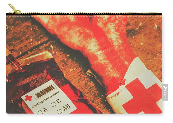 Horror Hospital Scenes Carry-all Pouch