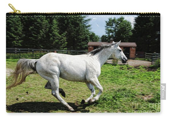 Horse - Beauty In Motion Carry-all Pouch
