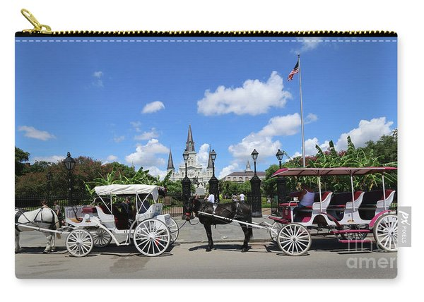 Horse Carriages Carry-all Pouch