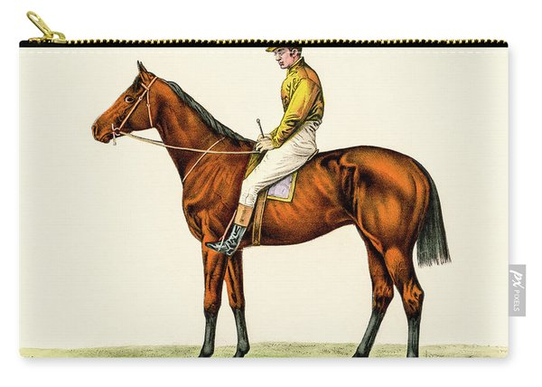 Horse Jockey Carry-all Pouch