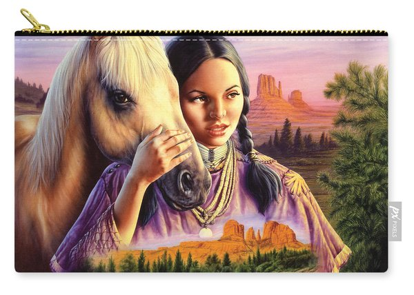 Horse Maiden Carry-all Pouch