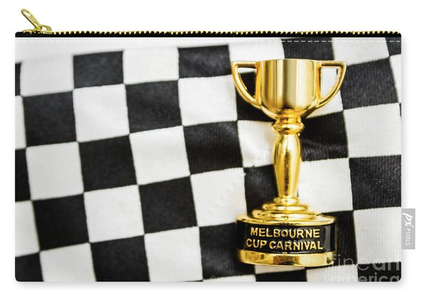 Horse Races Trophy. Melbourne Cup Win Carry-all Pouch
