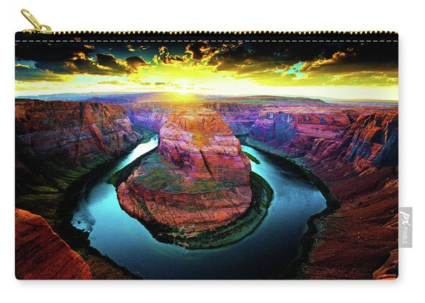 Horse Shoe Bend Carry-all Pouch