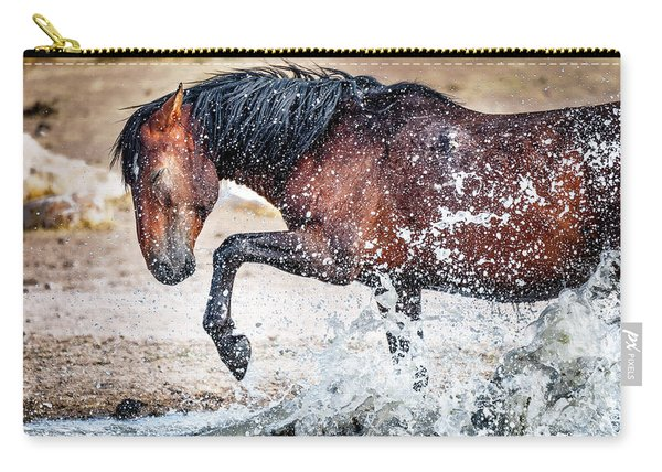 Horse Splash Carry-all Pouch