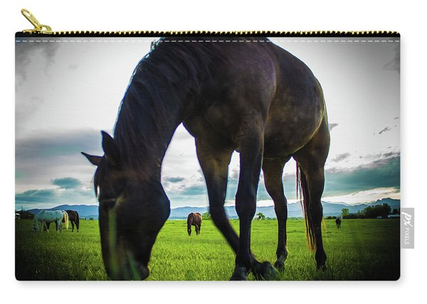 Horse Time Carry-all Pouch