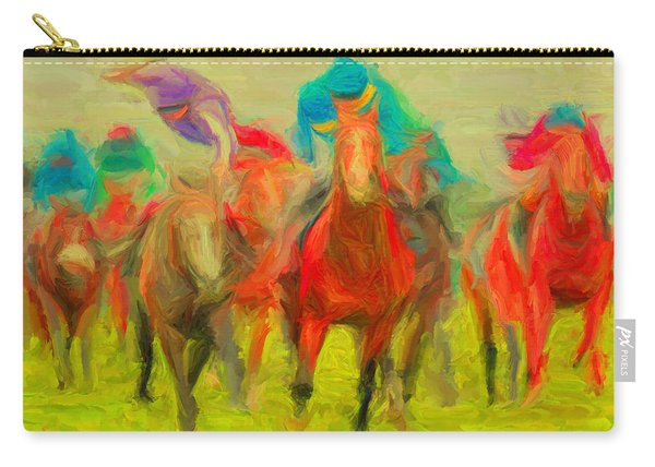 Horse Tracking Carry-all Pouch