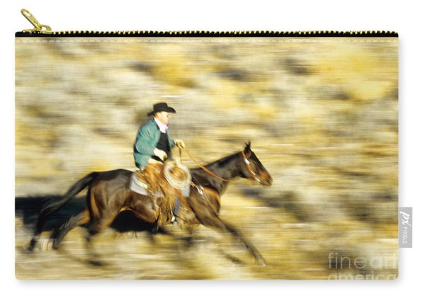 Horseback Rider Carry-all Pouch