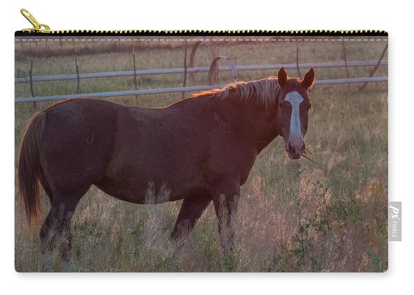 Horses 2 Carry-all Pouch