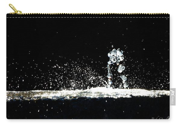 Horses And Men In Rain Carry-all Pouch