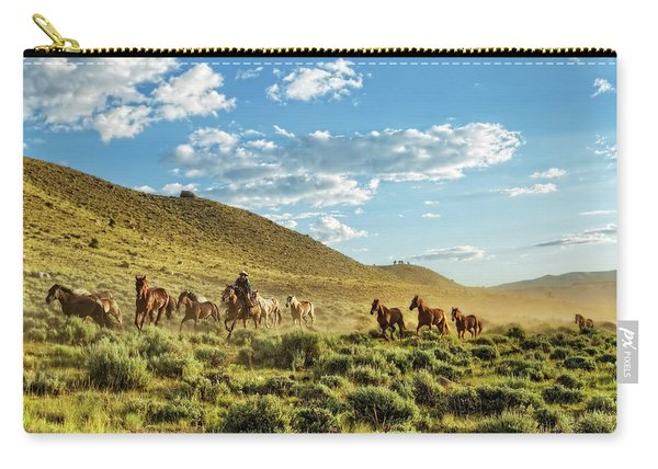 Horses And More Horses Carry-all Pouch