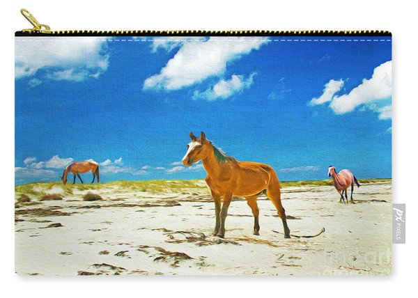 Horses Of Cumberland Carry-all Pouch
