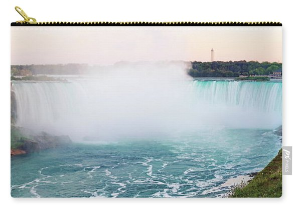 Horseshoe Falls At Dusk Carry-all Pouch