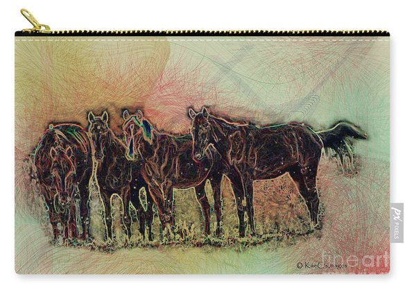 Horsing Around 2 Carry-all Pouch