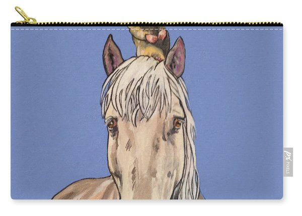 Hortense The Horse Carry-all Pouch