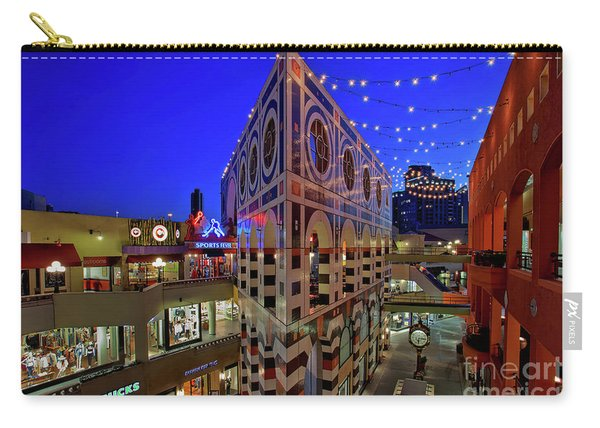 Carry-all Pouch featuring the photograph Horton Plaza Shopping Center by Sam Antonio Photography