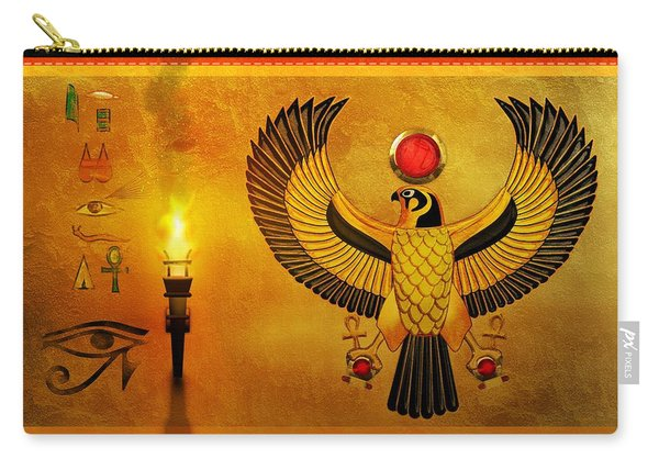 Horus Falcon God Carry-all Pouch