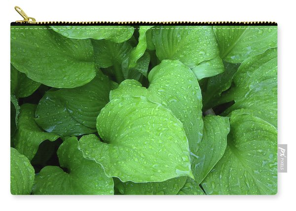 Hostas After The Rain IIi Carry-all Pouch