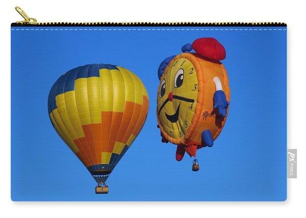 Hot Air Balloon Conversation Carry-all Pouch