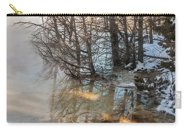 Hot And Cold In Yellowstone Carry-all Pouch