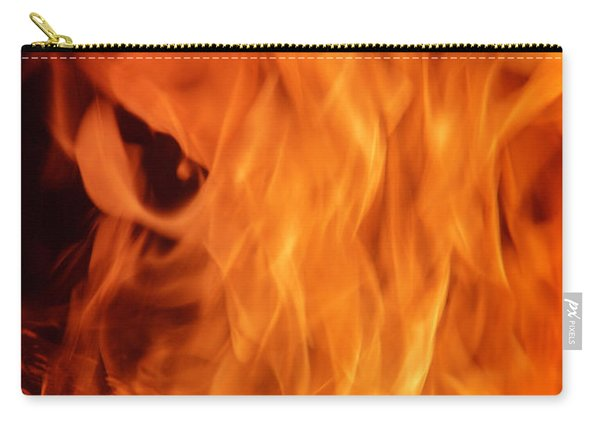 Hot Blazing Fire Carry-all Pouch