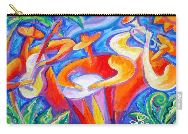 Hot Latin Jazz Carry-all Pouch
