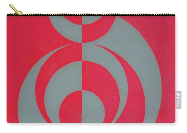 Hot Pink Dancer Carry-all Pouch