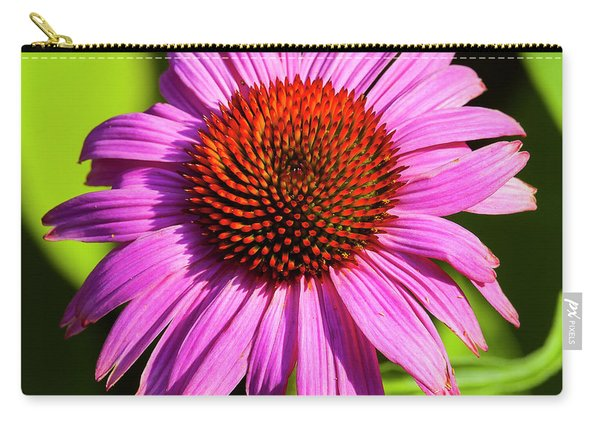 Hot Pink Flower Carry-all Pouch