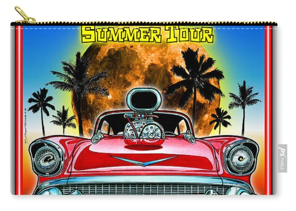 Hot Rods Forever Summer Tour Carry-all Pouch