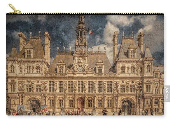 Paris, France - Hotel De Ville Carry-all Pouch