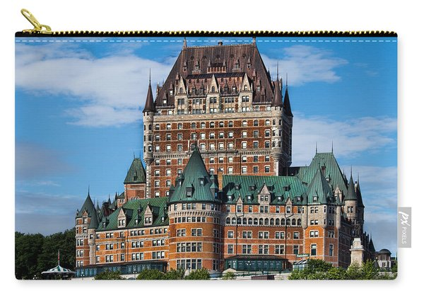 Chateau Frontenac In Quebec City Carry-all Pouch