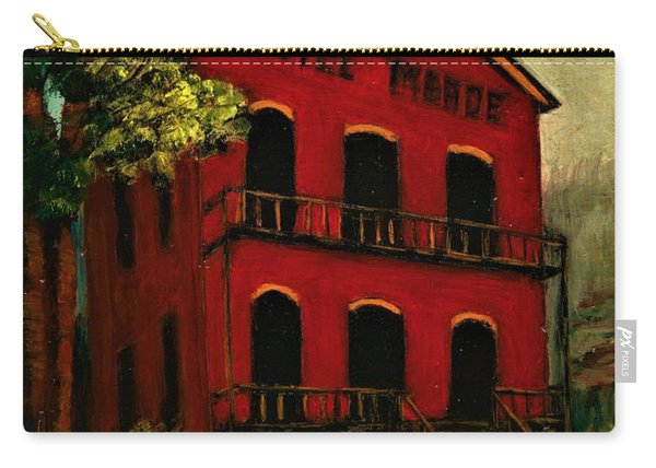 Hotel Meade Bannack Mt  Carry-all Pouch