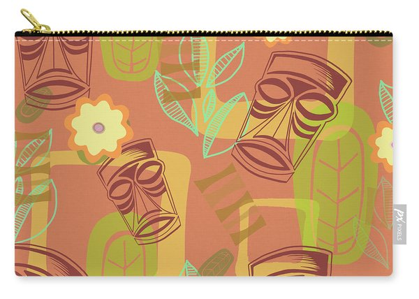 Hour At The Tiki Room Carry-all Pouch