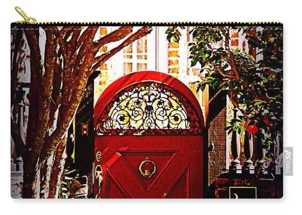 House Door 5 In Charleston Sc  Carry-all Pouch
