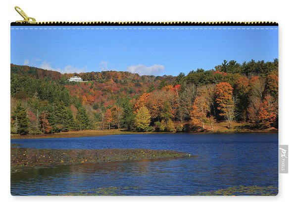 House In The Mountains Carry-all Pouch