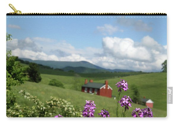 House On Hill In Lexington Carry-all Pouch