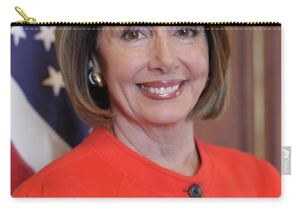 House Speaker Nancy Pelosi Of California  Carry-all Pouch