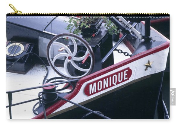 Houseboat In France Carry-all Pouch