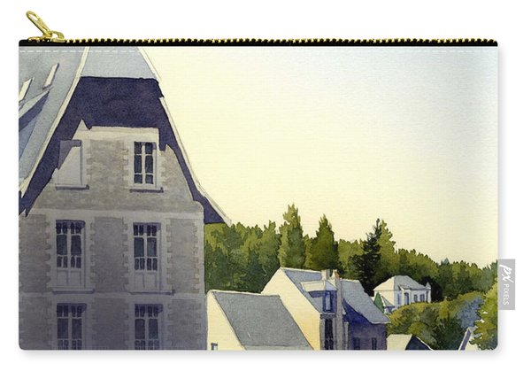 Houses At Murol Carry-all Pouch