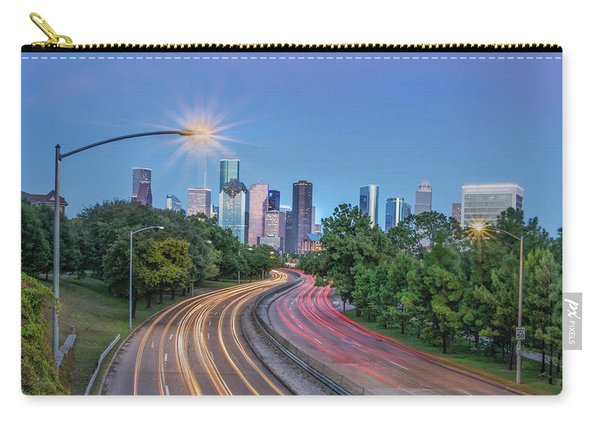 Houston Evening Cityscape Carry-all Pouch