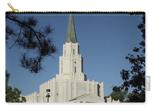 Houston Lds Temple Carry-all Pouch