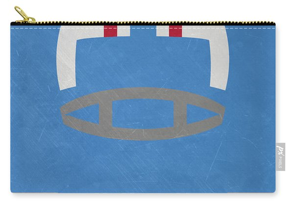 Houston Oilers Vintage Art Carry-all Pouch