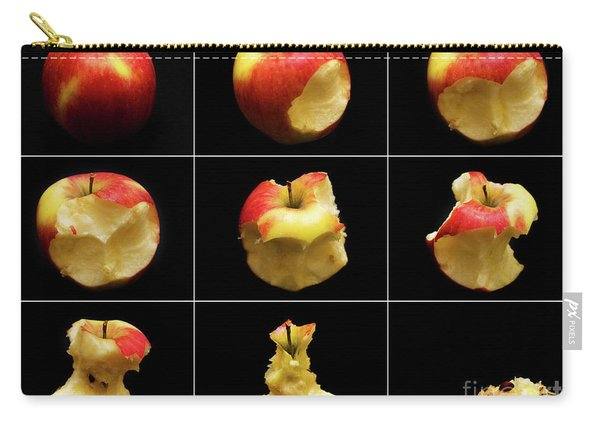 How To Eat An Apple In 9 Easy Steps Carry-all Pouch