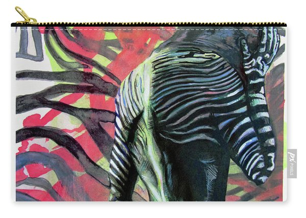 Rising From Ashes Zebra Boy Carry-all Pouch