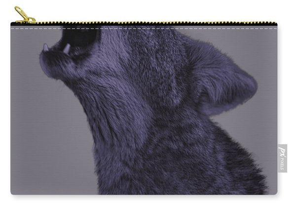 Howling Coyote Carry-all Pouch