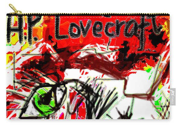 Hp Lovecraft Poster  Carry-all Pouch