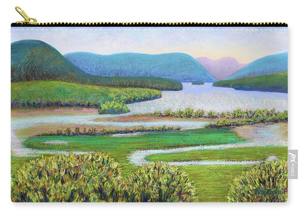 Hudson River In Summer Carry-all Pouch