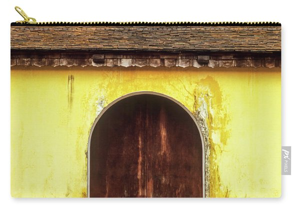 Hue Imperial Citadel Arched Door 01 Carry-all Pouch