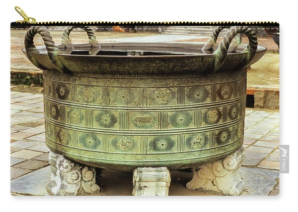 Hue Imperial Citadel Bronze Urn 01 Carry-all Pouch